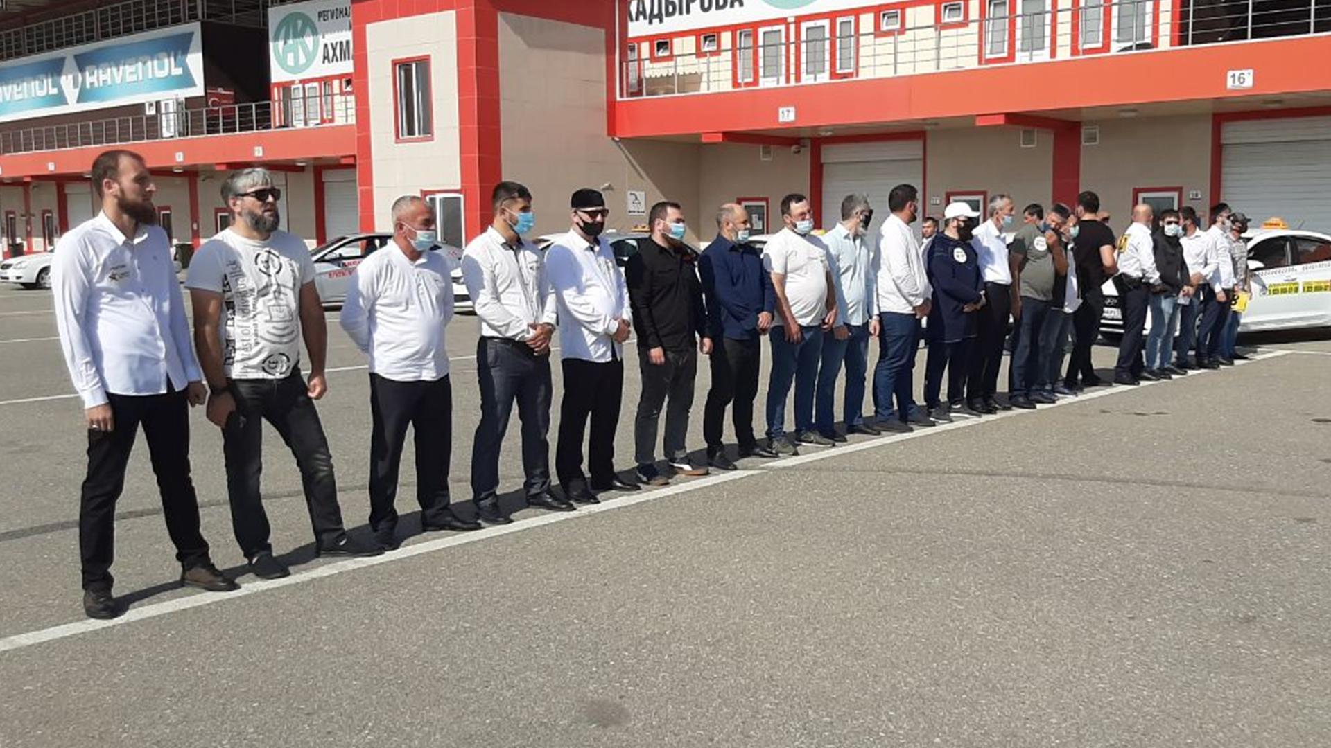 В Чеченской Республике выбрали лучшего водителя такси
